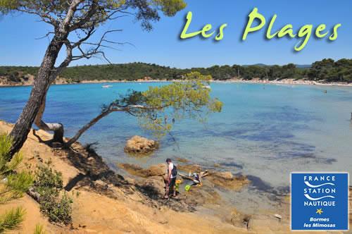 Photos des plages de bormes - Office de tourisme de bormes les mimosas ...